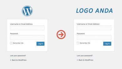 Cara Mengubah Logo Login Wordpress