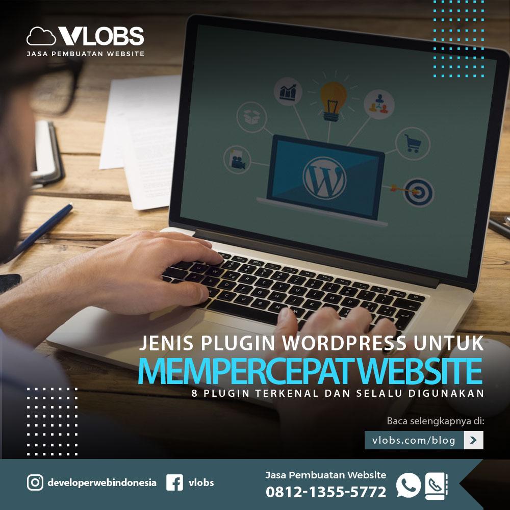 jenis plugin wordpress untuk mempercepat website