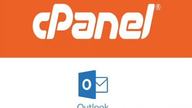 Cara setting email cpanel di outlook