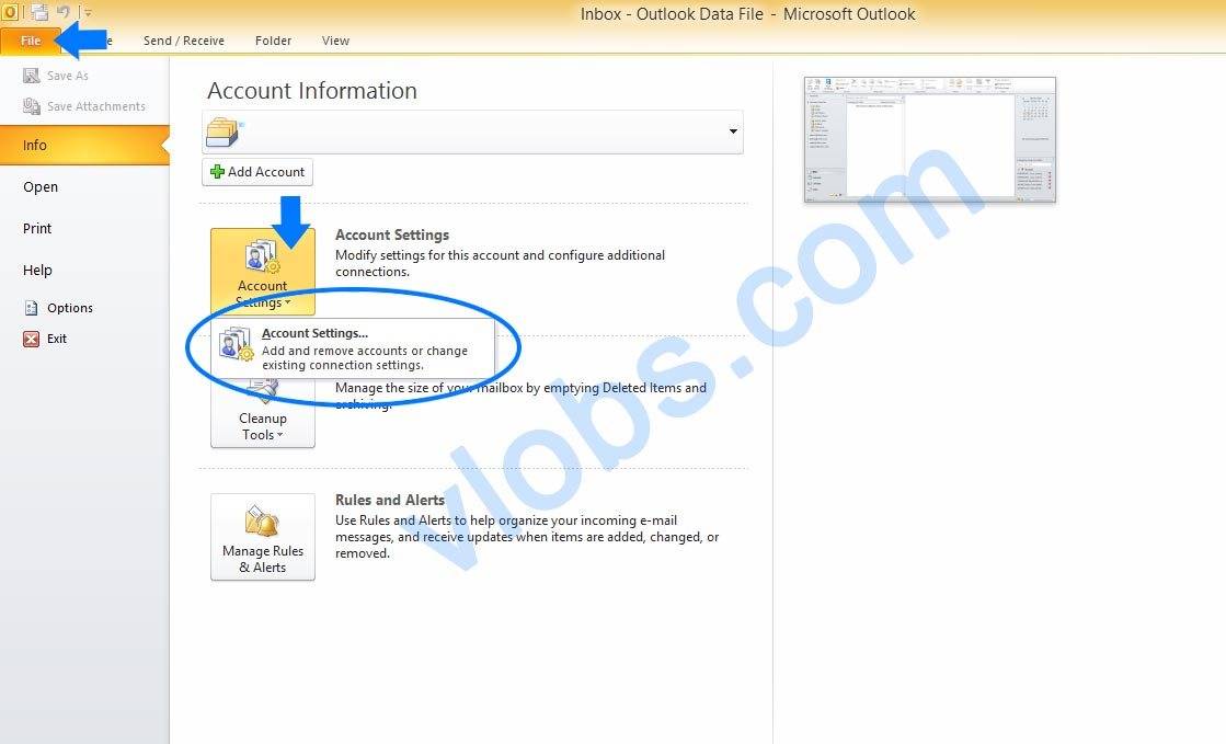 Cara Setting Email cPanel di Outlook 1