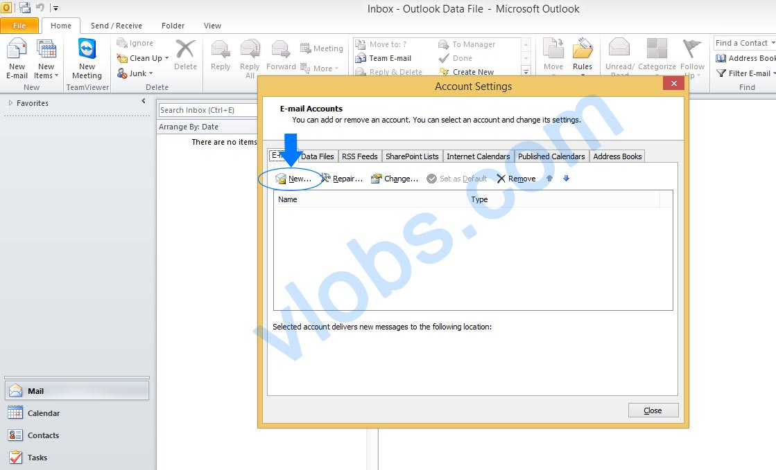 Cara Setting Email cPanel di Outlook 2