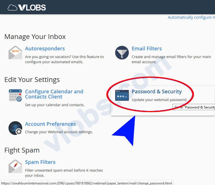 cara ganti password email hosting 3