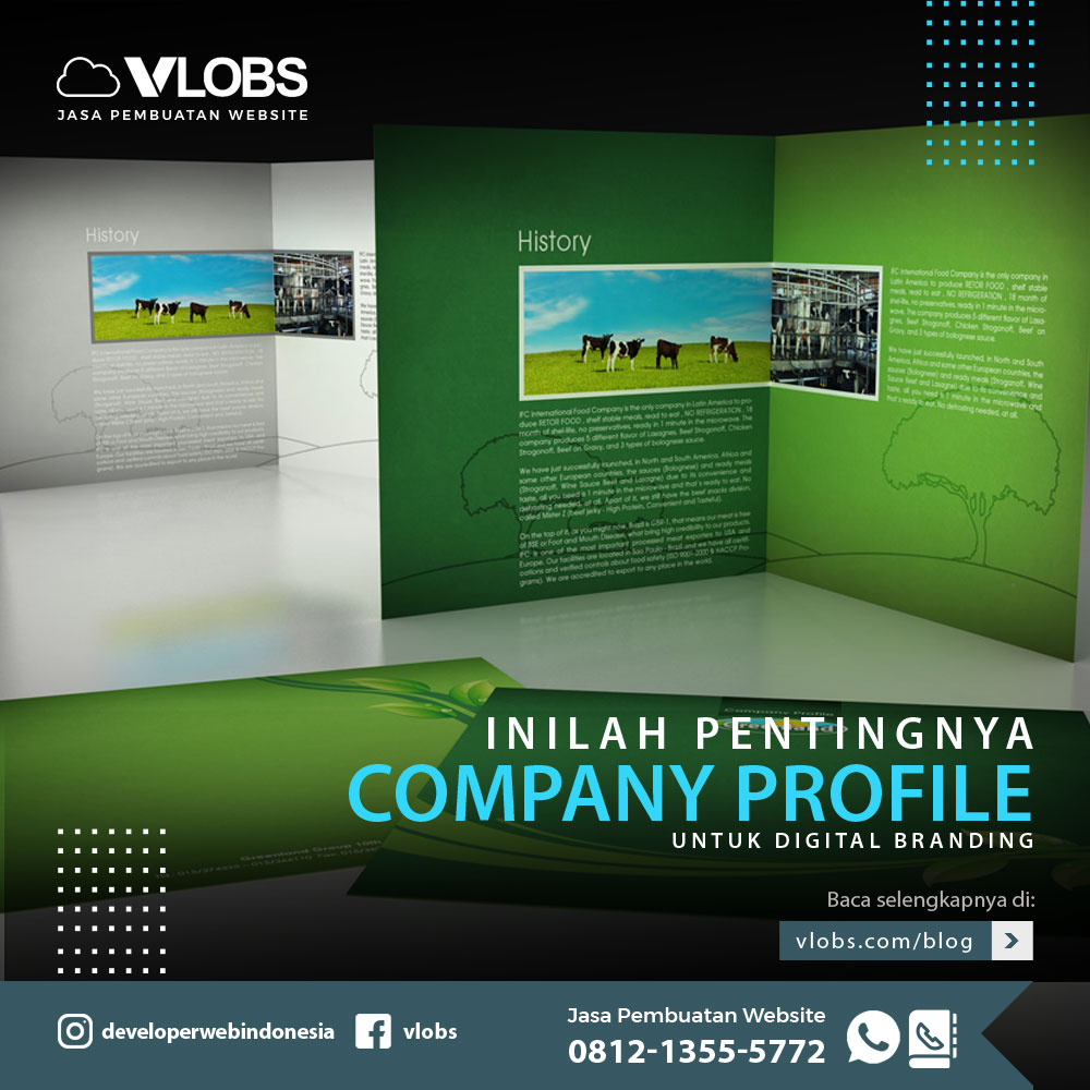 Inilah Pentingnya Company Profile Untuk Digital Branding