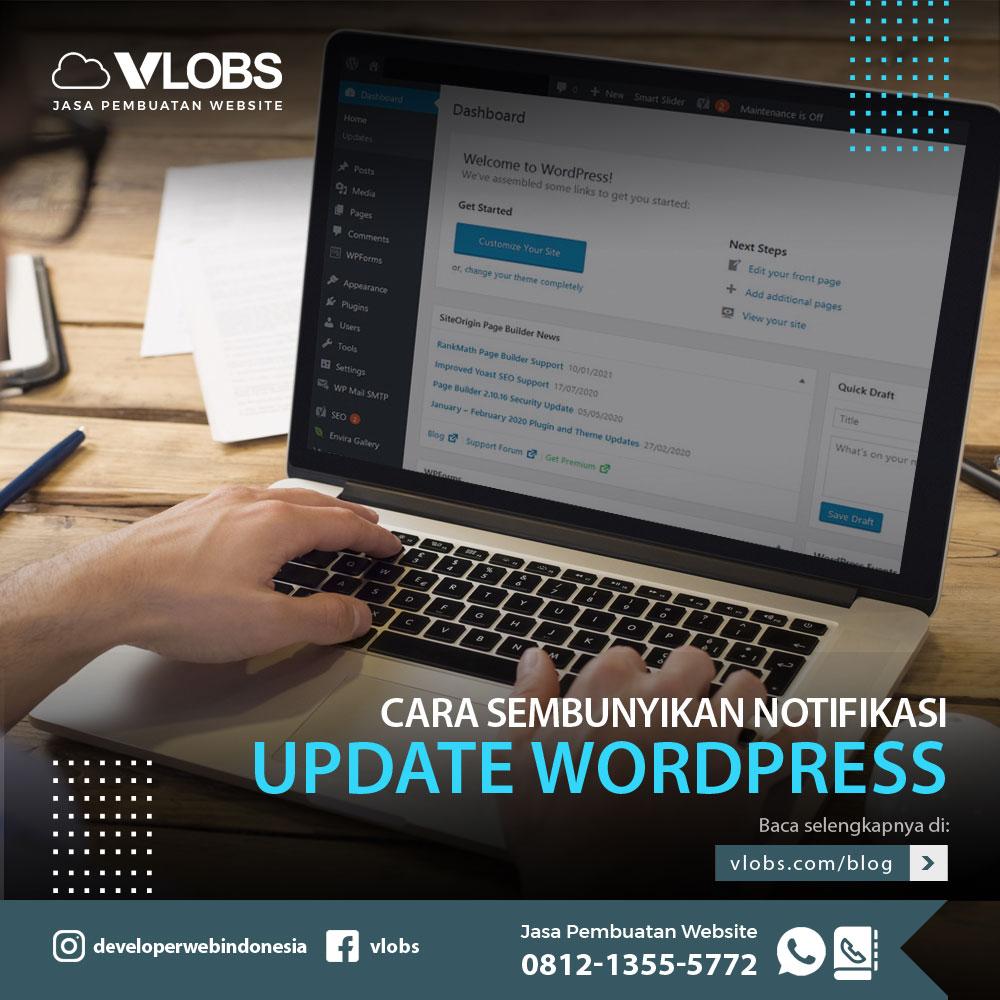 cara-sembunyikan-notifikasi-update-wordpress