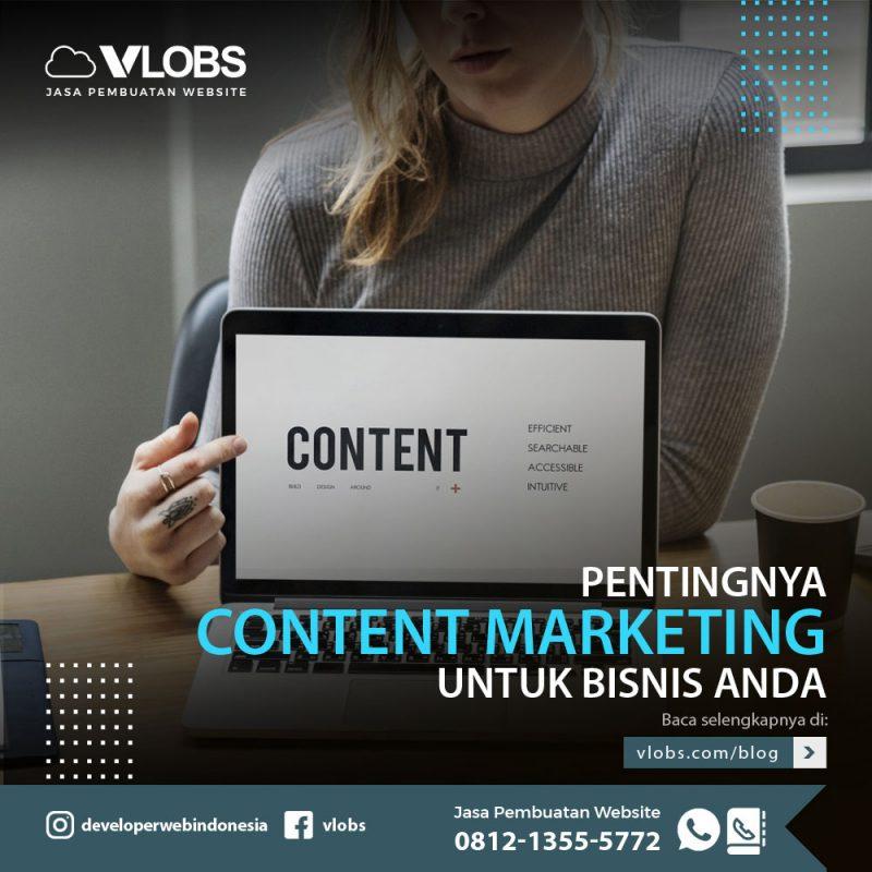 pentingnya konten marketing untuk bisnis anda