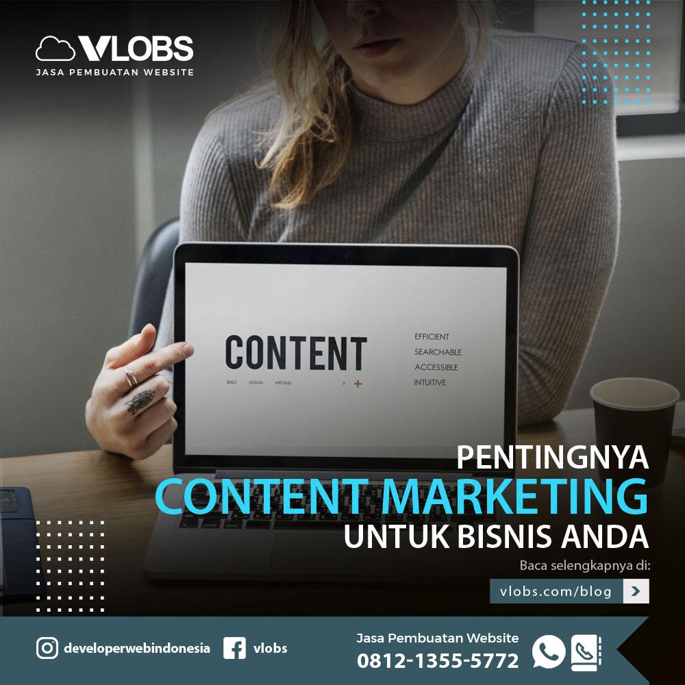 Pentingnya Content Marketing Untuk Bisnis Anda