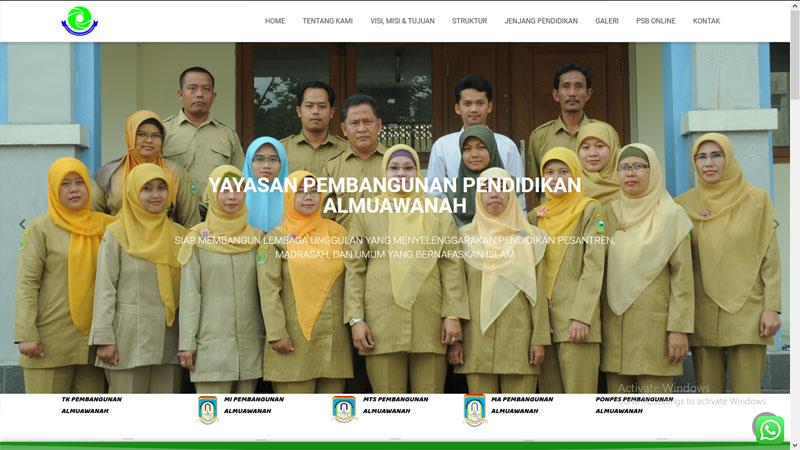 pembangunanalmuawanah.com