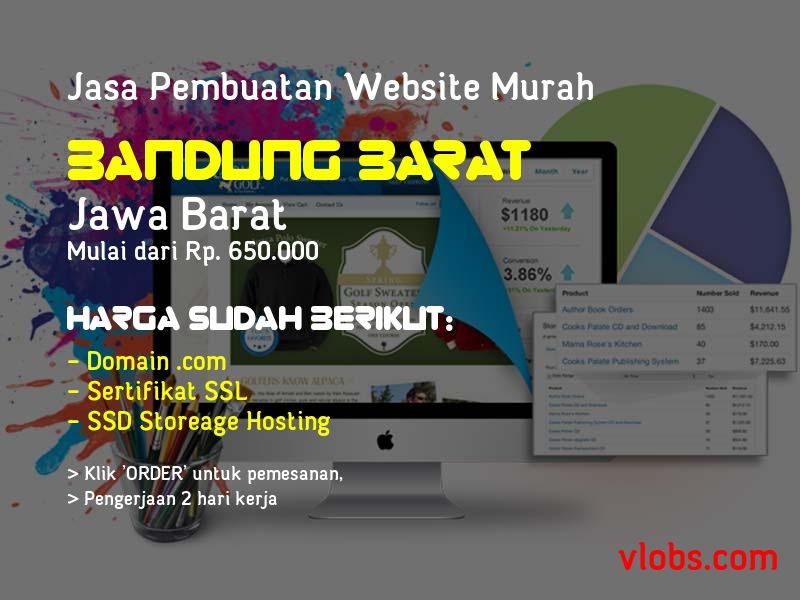 Jasa Pembuatan Website Murah Di Bandung Barat - Jawa Barat