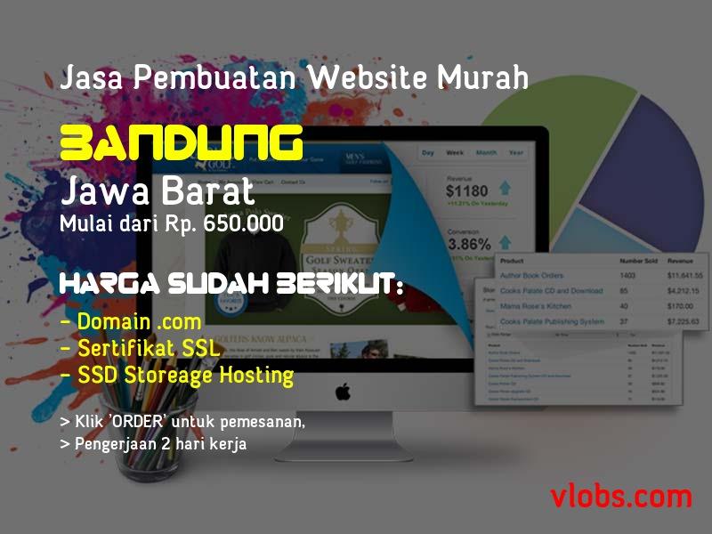 Jasa Pembuatan Website Murah Di Bandung - Jawa Barat
