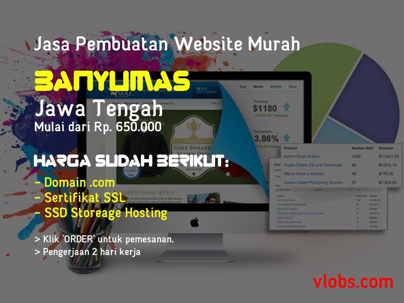 Jasa Pembuatan Website Murah Di Banyumas - Jawa Tengah