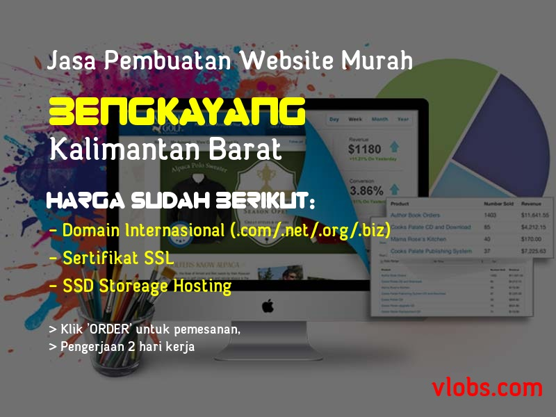 Jasa Pembuatan Website Murah Di Bengkayang - Kalimantan Barat
