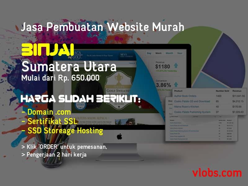 Jasa Pembuatan Website Murah Di Binjai - Sumatera Utara