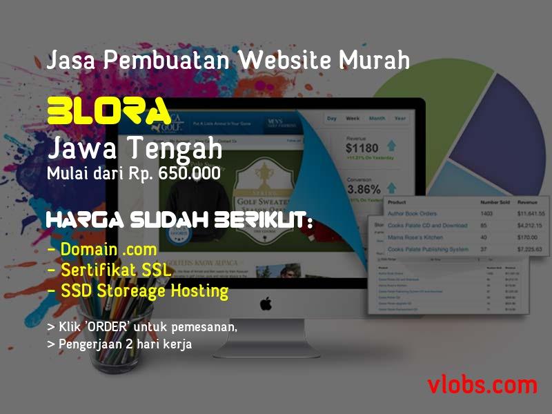 Jasa Pembuatan Website Murah Di Blora - Jawa Tengah