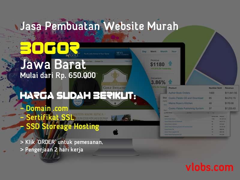 Jasa Pembuatan Website Murah Di Bogor - Jawa Barat