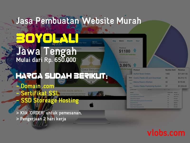 Jasa Pembuatan Website Murah Di Boyolali - Jawa Tengah
