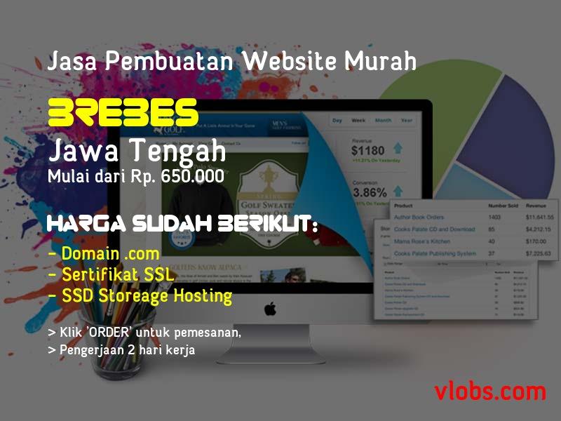 Jasa Pembuatan Website Murah Di Brebes - Jawa Tengah