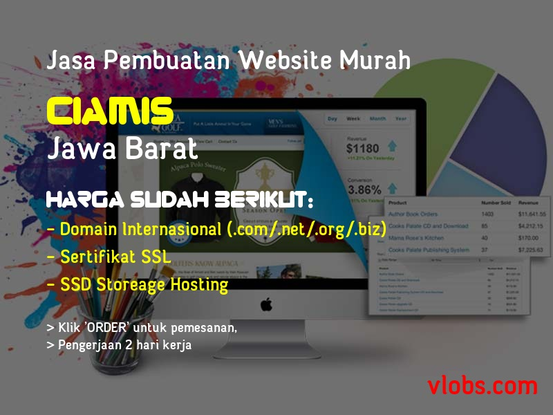 Jasa Pembuatan Website Murah Di Ciamis - Jawa Barat
