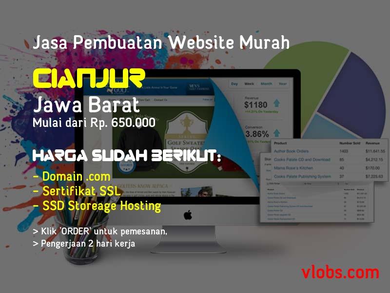 Jasa Pembuatan Website Murah Di Cianjur - Jawa Barat