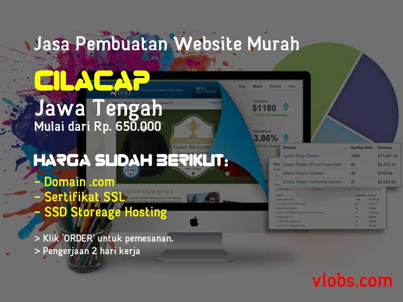 Jasa Pembuatan Website Murah Di Cilacap - Jawa Tengah