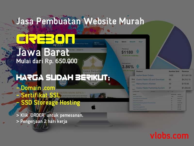 Jasa Pembuatan Website Murah Di Cirebon - Jawa Barat