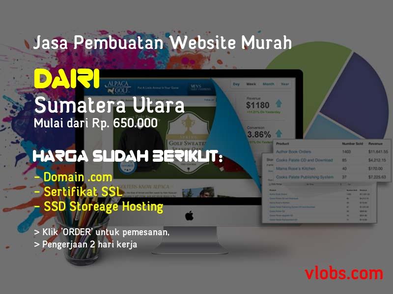 Jasa Pembuatan Website Murah Di Dairi - Sumatera Utara
