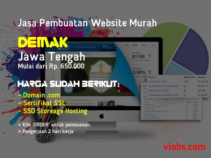 Jasa Pembuatan Website Murah Di Demak - Jawa Tengah