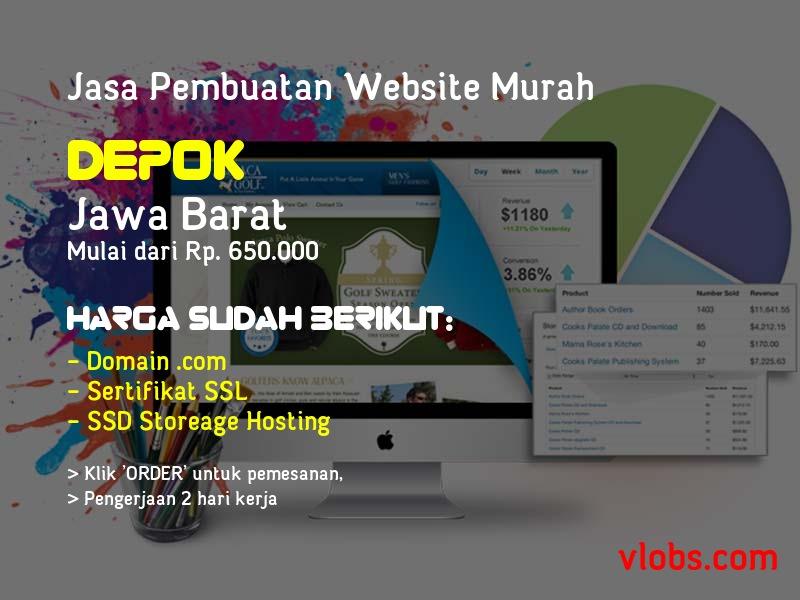 Jasa Pembuatan Website Murah Di Depok - Jawa Barat