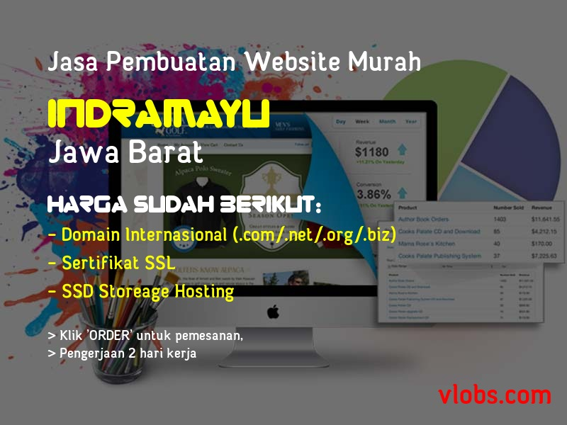Jasa Pembuatan Website Murah Di Indramayu - Jawa Barat