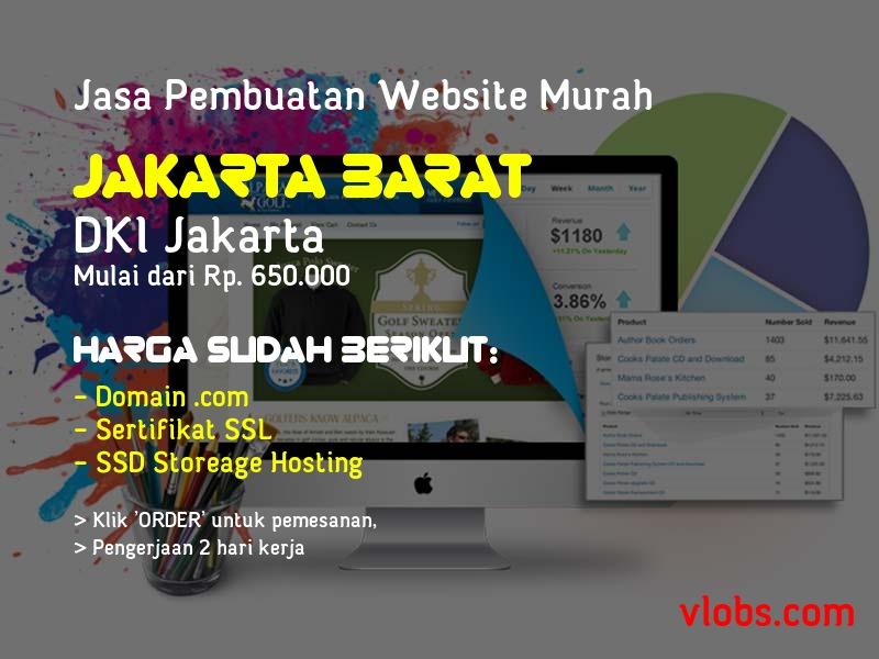 Jasa Pembuatan Website Murah Di Jakarta Barat - DKI Jakarta