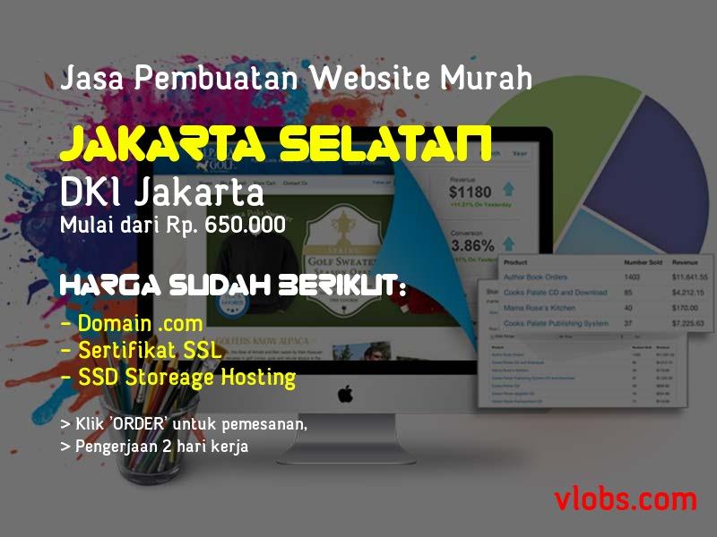 Jasa Pembuatan Website Murah Di Jakarta Selatan - DKI Jakarta