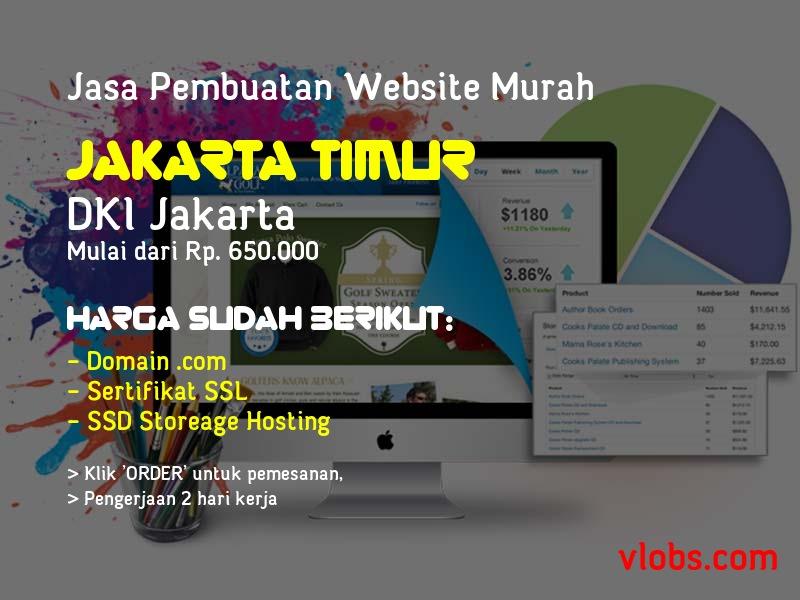 Jasa Pembuatan Website Murah Di Jakarta Timur - DKI Jakarta