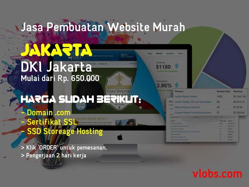 Jasa Pembuatan Website Murah Di Jakarta - DKI Jakarta