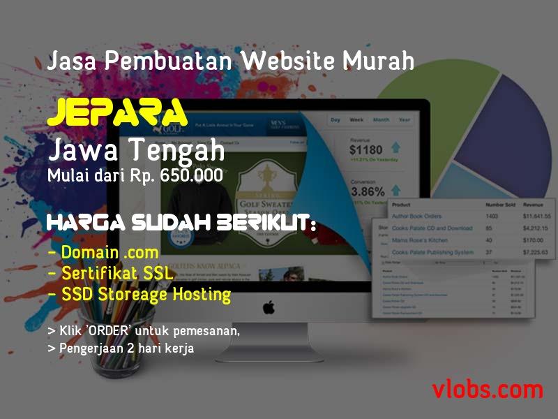 Jasa Pembuatan Website Murah Di Jepara - Jawa Tengah