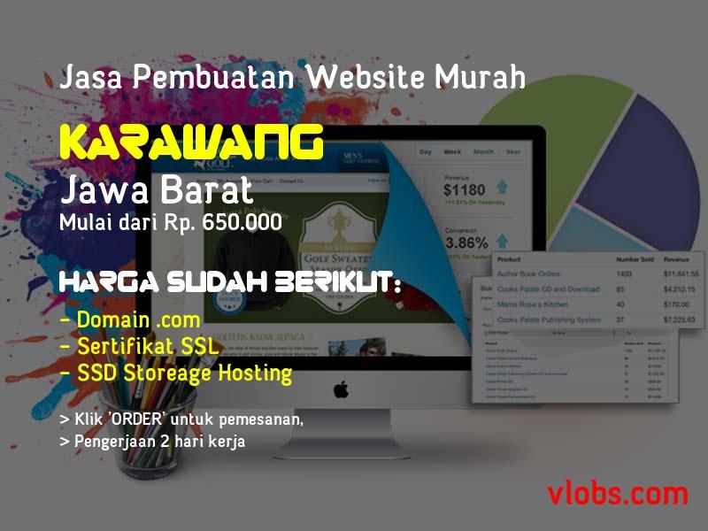Jasa Pembuatan Website Murah Di Karawang - Jawa Barat