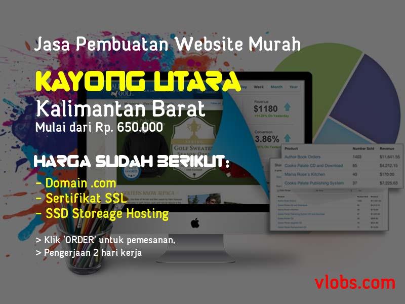 Jasa Pembuatan Website Murah Di Kayong Utara - Kalimantan Barat