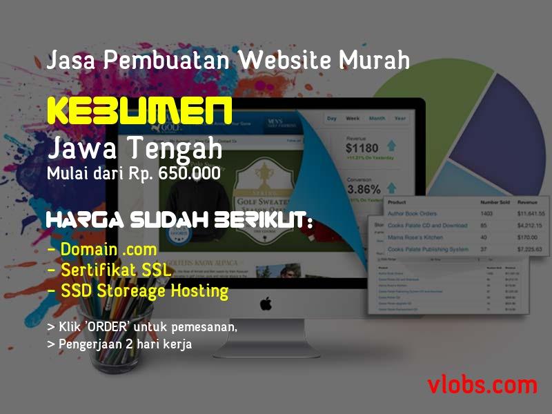 Jasa Pembuatan Website Murah Di Kebumen - Jawa Tengah