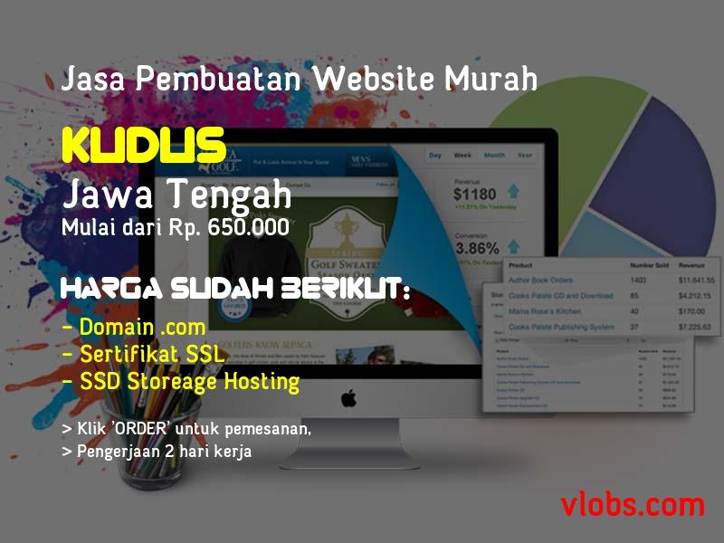 Jasa Pembuatan Website Murah Di Kudus - Jawa Tengah