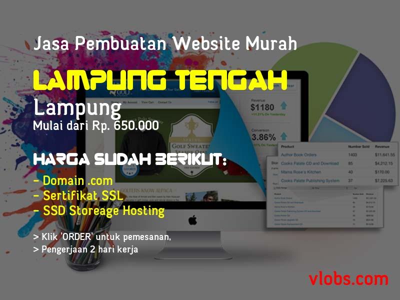 Jasa Pembuatan Website Murah Di Lampung Tengah - Lampung
