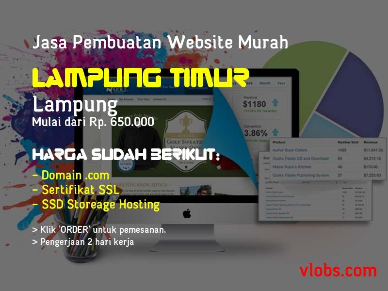 Jasa Pembuatan Website Murah Di Lampung Timur - Lampung