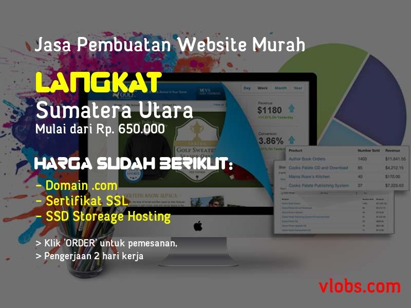 Jasa Pembuatan Website Murah Di Langkat - Sumatera Utara