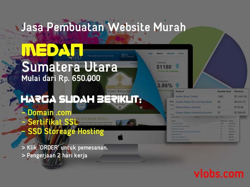 Jasa Pembuatan Website Murah Di Medan - Sumatera Utara