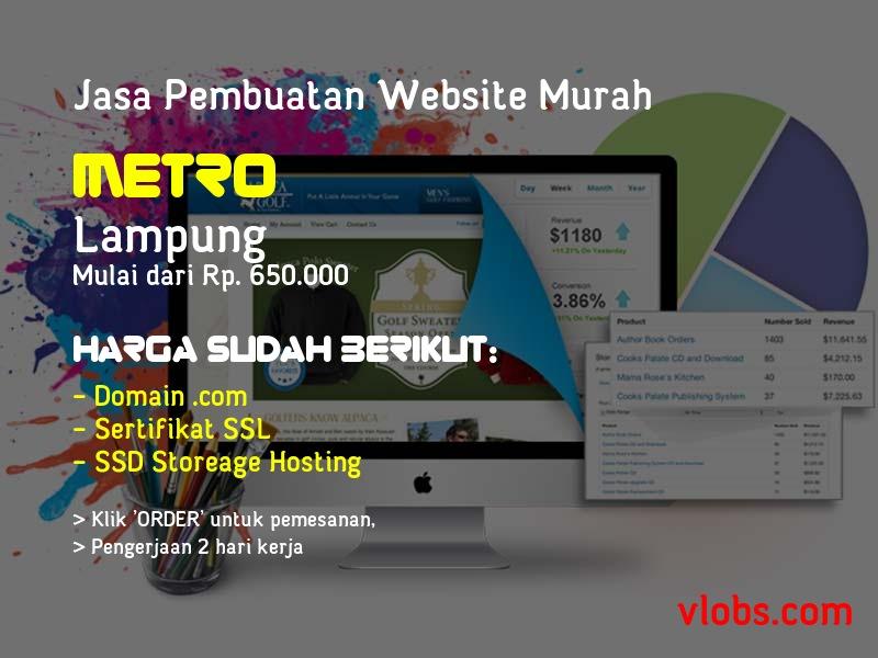Jasa Pembuatan Website Murah Di Metro - Lampung