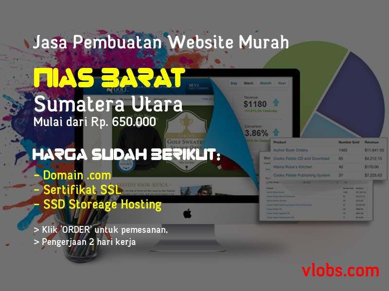 Jasa Pembuatan Website Murah Di Nias Barat - Sumatera Utara