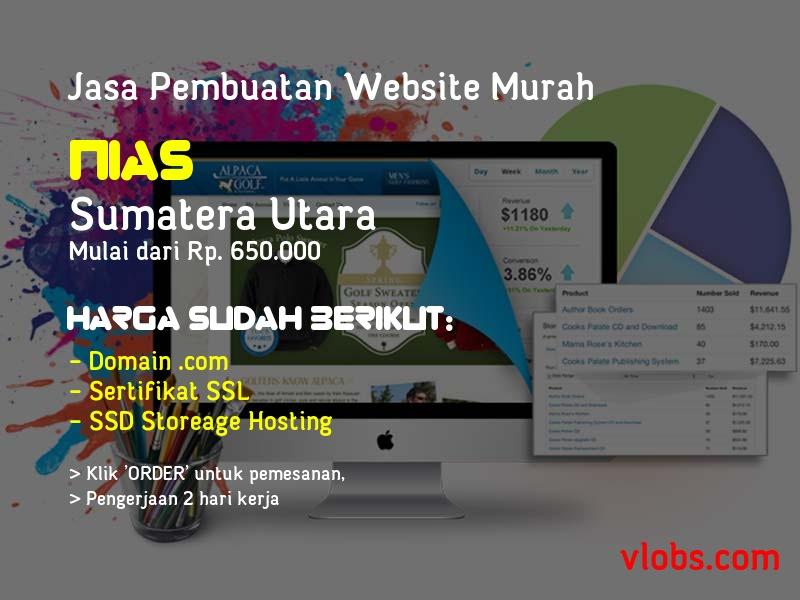 Jasa Pembuatan Website Murah Di Nias - Sumatera Utara