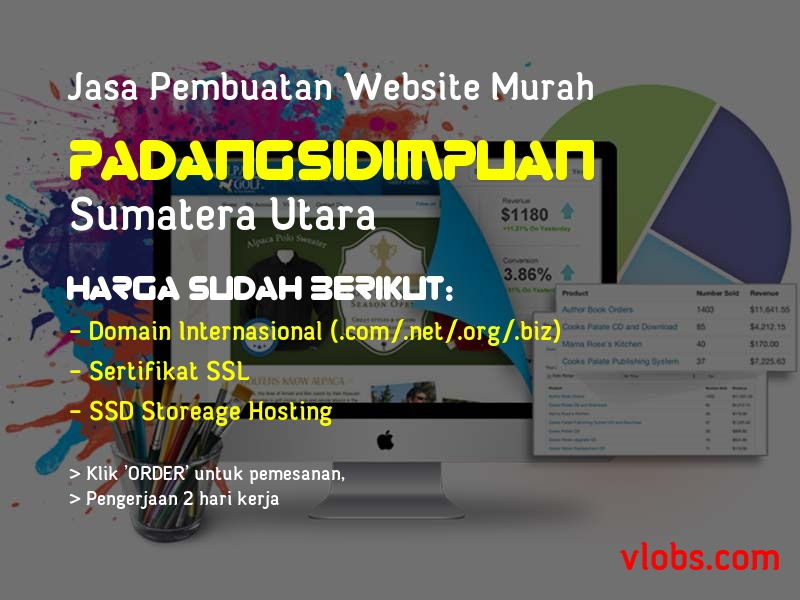Jasa Pembuatan Website Murah Di Padangsidimpuan - Sumatera Utara