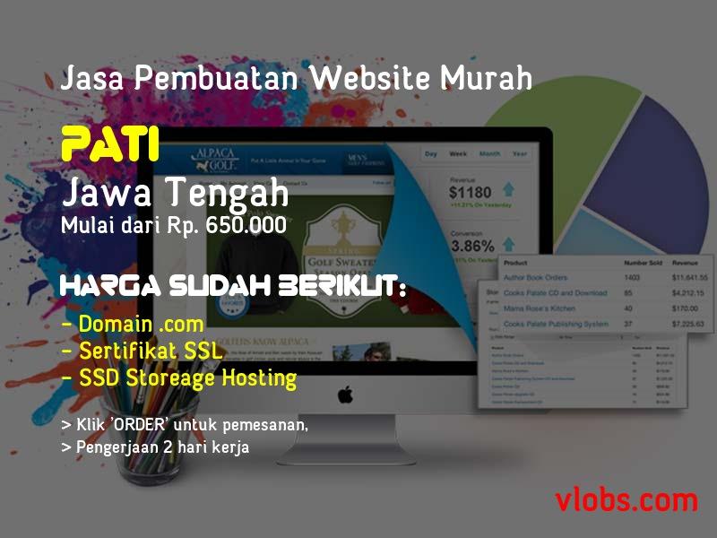 Jasa Pembuatan Website Murah Di Pati - Jawa Tengah