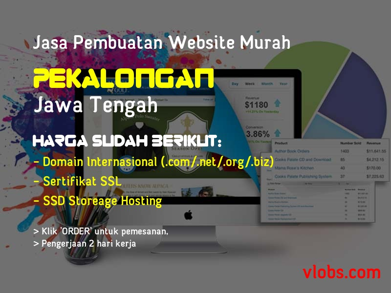 Jasa Pembuatan Website Murah Di Pekalongan - Jawa Tengah
