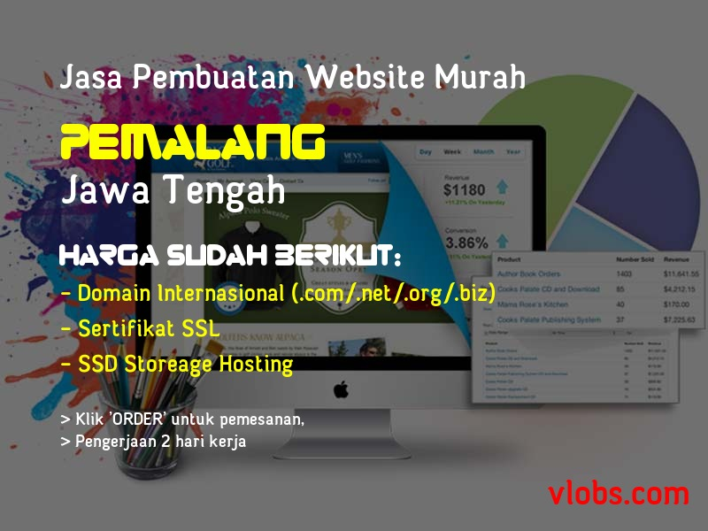 Jasa Pembuatan Website Murah Di Pemalang - Jawa Tengah
