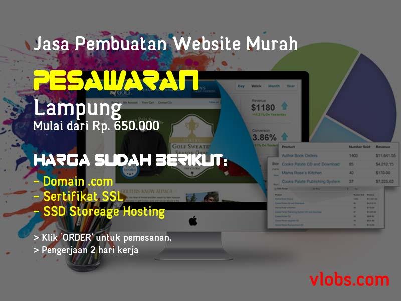 Jasa Pembuatan Website Murah Di Pesawaran - Lampung