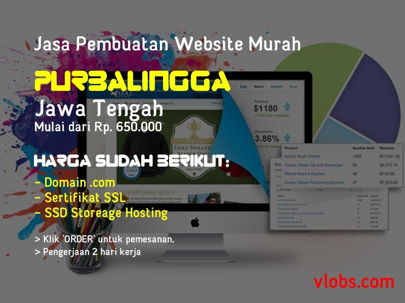 Jasa Pembuatan Website Murah Di Purbalingga - Jawa Tengah